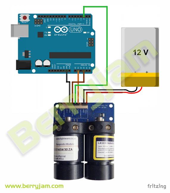 OSLRF01-ArduinoUNO