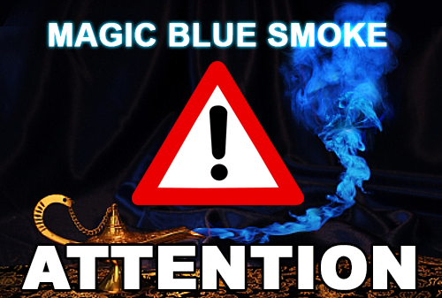 Magic Blue Smoke Attention